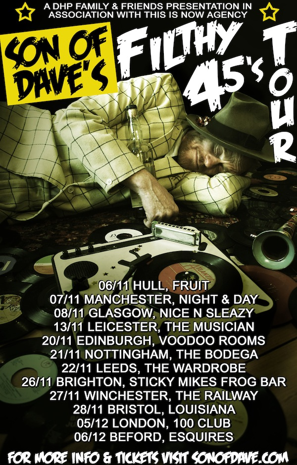 SOD FILTHY 45 TOUR BLOG